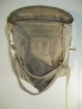 Vintage Wells & Wade No 50 Twin Canvas Fruit Apple Picking Bag Harness