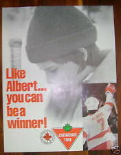 """1986 Canadian Tire """"Albert in the NHL"""" Poster"""