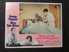 "1968 WHAT'S SO BAD ABOUT FEELING GOOD Original 14x11"" Lobby Card #2 VG 4.0"