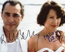 AUTOGRAPHES SUR PHOTO de Nathalie BAYE et Richard BERRY (signed in person)