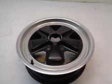 Porsche Fuchs Wheel 16x6 Black With Silver Lip 911 361 020 43 Used Genuine Wr