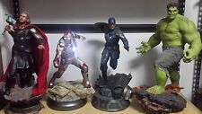 Sideshow Collectibles premium format maquette Iron Man Captain America Thor Hulk
