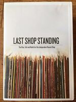 LAST SHOP STANDING - Rise, Fall and Rebirth the Independent Record Shop  UK DVD