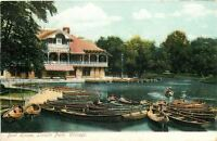 Chicago Illinois~Lincoln Park~Boat House~1907 Postcard