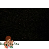 Uptown Worsted Universal Yarn BLACK Acrylic #4 All Purpose Weight 180yd 100gr