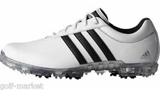 New Adidas Golf- Adipure Flex Golf Shoes White/Black Size 9 Wide