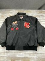 MARK ECKO INDUSTRIAL MEN SIZE 2XL BLACK FULL ZIP GOLDEN JUBILEE JACKET EUC