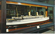 AZ-174 - Empress of France, Large Model Ship 1960's-70's Modern Chrome Postcard