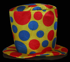 Clown Top Hat foam novelty funny oversized jumbo circus prop costume parade