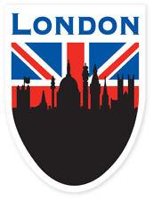 British Union Jack Flag London Sky Shield Car Bumper Window Sticker Decal Vinyl