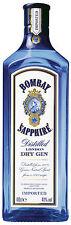 Bombay Sapphire London Dry Gin, Englischer Gin, 1 l.