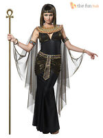 Ladies Queen Cleopatra Womens Fancy Dress Costume Egyptian Goddess Outfit
