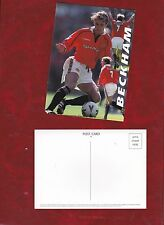 David Beckham, Manchester United Kit (Rosso) cartolina circa 2001