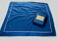 RAYMOND WAITES Euro Shams CADET BLUE WHITE PIPING (2)