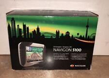 "NAVIGON 5100 GPS NAVIGATION SYSTEM -- 3.5"" BACKLIT TOUCHSCREEN"
