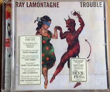 """RAY LAMONTAGNE """"TROUBLE"""" 2004 10 TRACK DEBUT CD ALBUM ALL THE WILD HORSES"""