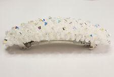 """Brautschmuck Haarspange """"Magic Carpet Weiß"""" mit Swarovski Beads, handmade"""
