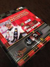 DALE EARNHARDT 1999 STATS AND STANDINGS BOOK WITH 1:64 METAL DIECAST CAR #3 RARE