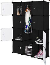Kleiderschrank Kesser 12 Boxen 600 Liter schwarz