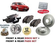 für Mazda 3 2.0 2003-2009 neue Front & hinten Bremsscheiben und Bremsbeläge Satz