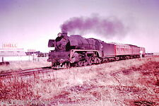 Victorian Railways Steam R763 outside Ararat with a Pass from Hamilton early1965