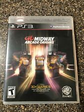 Midway Arcade Origins (Sony PlayStation 3) PS3 Complete Tested FREE SHIPPING