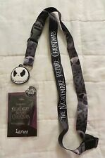 Nightmare Before Christmas Jack Lanyard ID Badge / Ticket Holder New
