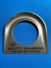 Scotty Cameron Silver Natural Putting Cup and Bag New unused
