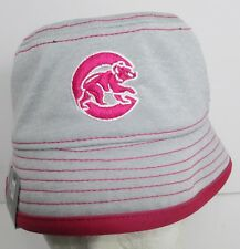Chicago Cubs Toddler Kids Hat Cap Bucket New Era Embroidery Girls New