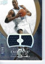 DWIGHT HOWARD 2008 EXQUISITE DUAL PATCHES #d /25 SUPER RARE JERSEY ORLANDO MAGIC