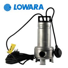 Pompa sommersa acque sporche LOWARA DOMO 7/B elettropompa per fogna nere chiare