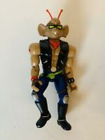 Vintage Galoob Biker Mice From Mars THROTTLE Action Figure Rare HTF
