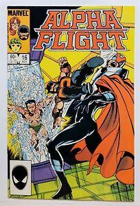 Alpha Flight #16 (Nov 1984, Marvel) VF