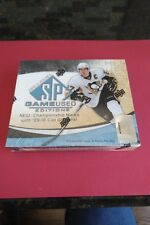 2010-11 UPPER DECK SP GAME USED HOCKEY EDITION - 1 FACTORY SEALED BOX