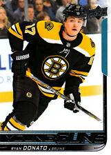 2018-19 UPPER DECK YOUNG GUNS R/C #225 Ryan Donato - Boston Bruins