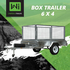 BRAND NEW Wi Campers & Trailers, 6x4 Tough Box Trailer For Sale & Rental