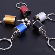 Useful Black Gear Knob Gear Shift Gear Stick Box Metal Key Chain Car Keyrings