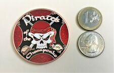 ☆ Pirates of the Chesapeake Geocoin AC Maryland Pirate Jolly Roger Unactivated