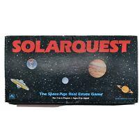 Vintage Golden SOLARQUEST Board Game Solar system estate game 1986