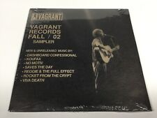 Various ‎Vagrant Records Fall Sampler Promo CD 2002 Dashboard Confessional New