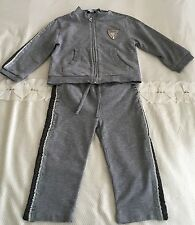 Baby Boys D&G Grey Tracksuit Size 12-18 Months