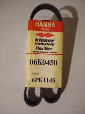HANNA Automotive Serpentine Belt Part # 06K0450