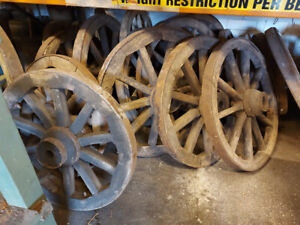VINTAGE WAGGON WHEELS