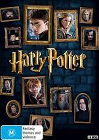 Harry Potter Complete 8 Film Collection 16 DVD Discs Set M