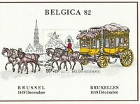belgium  6 mint never hinged stamps sheets ref  r11275