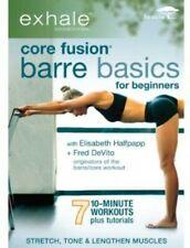 Exhale Core Fusion Barre Basics for B 0054961204991 DVD Region 1