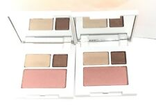 2 pcs Clinique All About Shadow Duo 01 like mink /07 Sunset Glow Fresh!!!