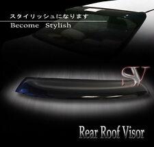 90-93 Acura Integra 3DR/4Dr Coupe DA5 Smoke Rear Roof Window Visor Spoiler Wing