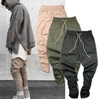 Fear of God Version Selvedge Zip Destroyed Torn Pants Collection Cargo Zipper