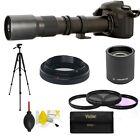 HD TELESCOPE TELEPHOTO ZOOM LENS 500-1000MM FOR NIKON D3400 D5000 D3100